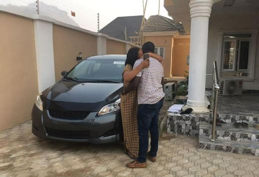 Welcome to Amxpress: Photos: Nigerian man surprises his wife