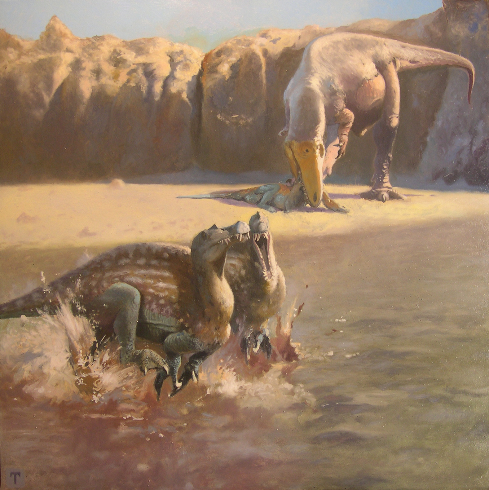 Species New To Science Paleontology 2012 Sauroniops