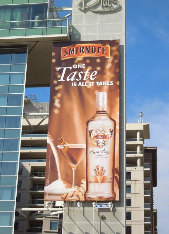 Smirnoff Cinna Sugar Twist Vodka billboard
