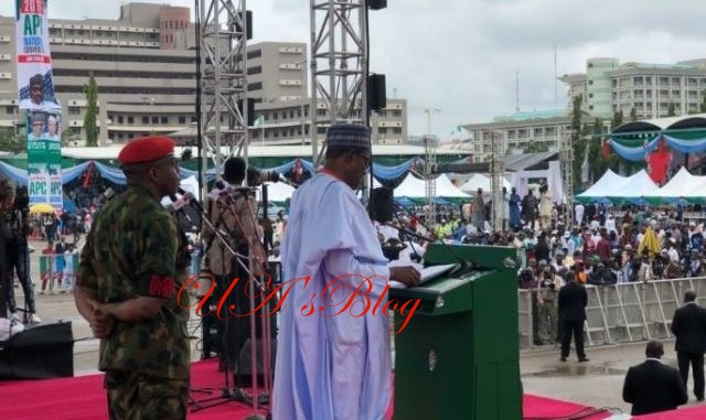 Buhari's Speech At APC National Convention Abuja