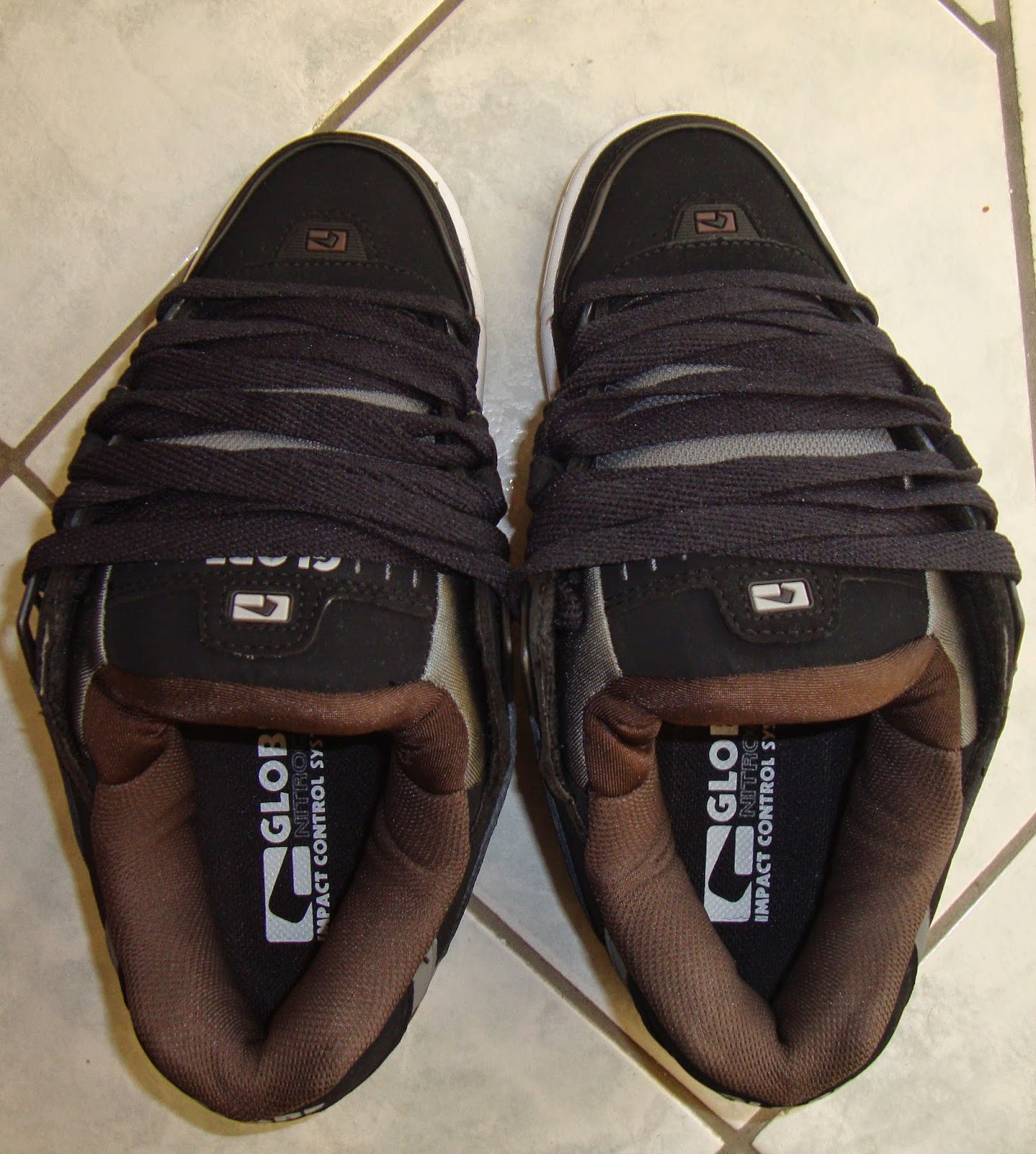 Globe Leather School Shoes