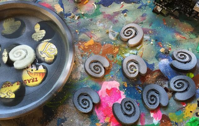 Pharasma tokens; Pharasma symbols; Spiral symbol; 3D printing pathfinder