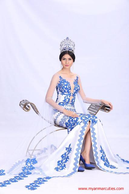 Miss Universe Myanmar 2017 Zun Than Zin