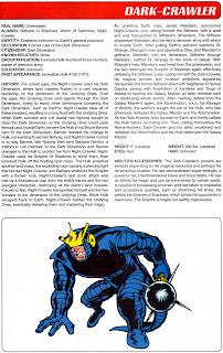 Dark Crawler Marvel