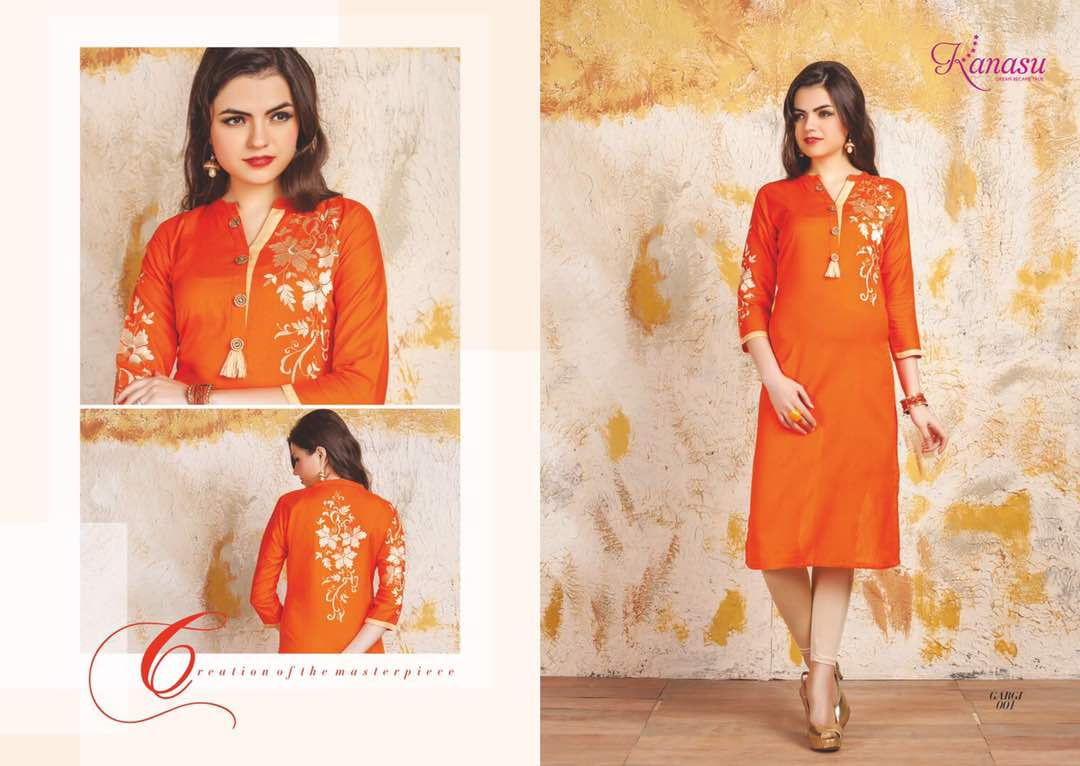 Gargi – New Designer Awesome Linen Kurti