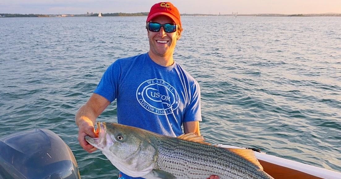 Rhode island striped bass photo of the day for Striper fishing ri