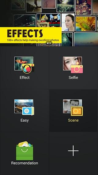Camera360 efectos
