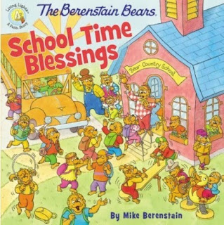 berenstein bear school time blessings cover