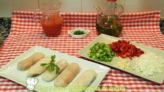 Receta fácil de merluza con salsa de tomate