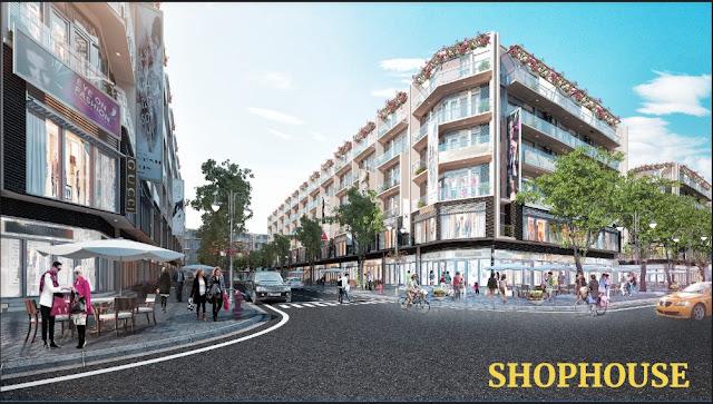 Hình ảnh Shophouse tại FLC Lux City