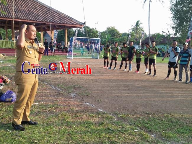 HUT Ke-100 Tahun, Pekon Tulungagung Gelar Open Tournament Futsal