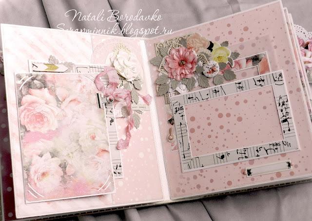 scrap album, handmade, fotoalbum, for women, for girl, scrap foto, prima, в подарок, на заказ, альбом на заказ