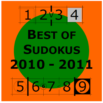 Best of LMI Sudoku tests 2010 - 2011 on 14th - 16 Dec 2013