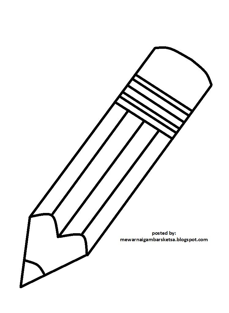 Mewarnai  Gambar Mewarnai  Gambar Sketsa Pensil  2