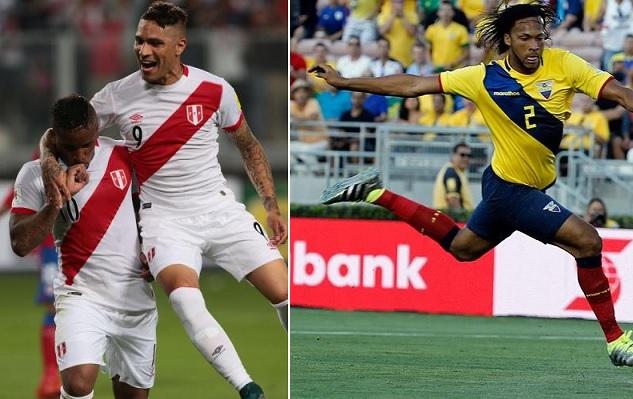 Ecuador vs Peru en vivo Copa America Centenario