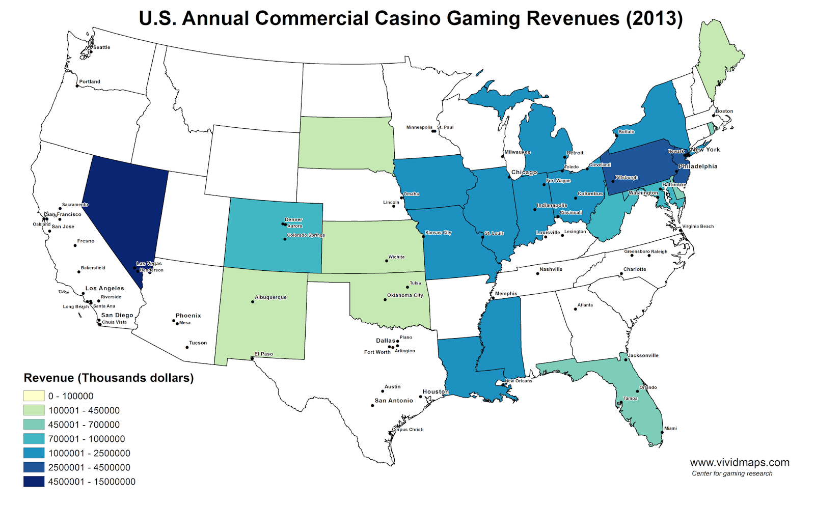 Casinos In Usa By State