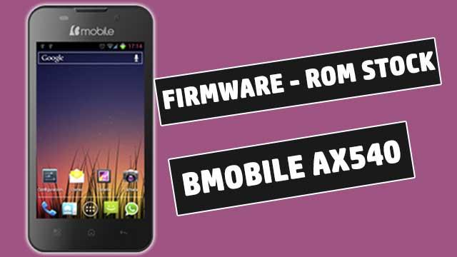 rom stock Bmobile AX540