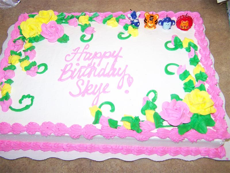 Growing Up Skye And Jack Happy 4th Birthday Skye