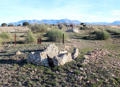 Parque megalítico de Gorafe. Dolmen de Gorafe