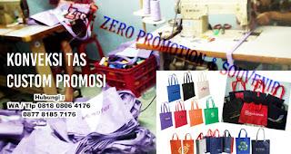 Produksi Goodie Bag - Tas Spunbond - Tas Seminar - Tas Ransel Promosi