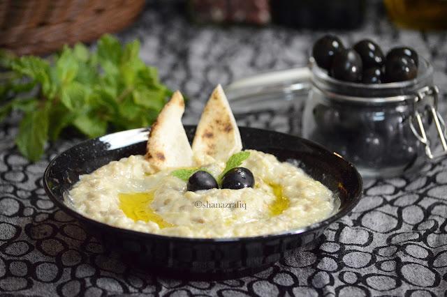 Mutabbal ~ Eggplant dip