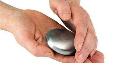 utensilio de acero inoxidable