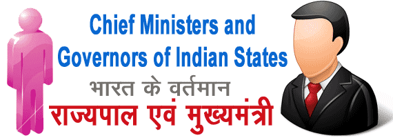 Chief Ministers and Governors of Indian States 2019