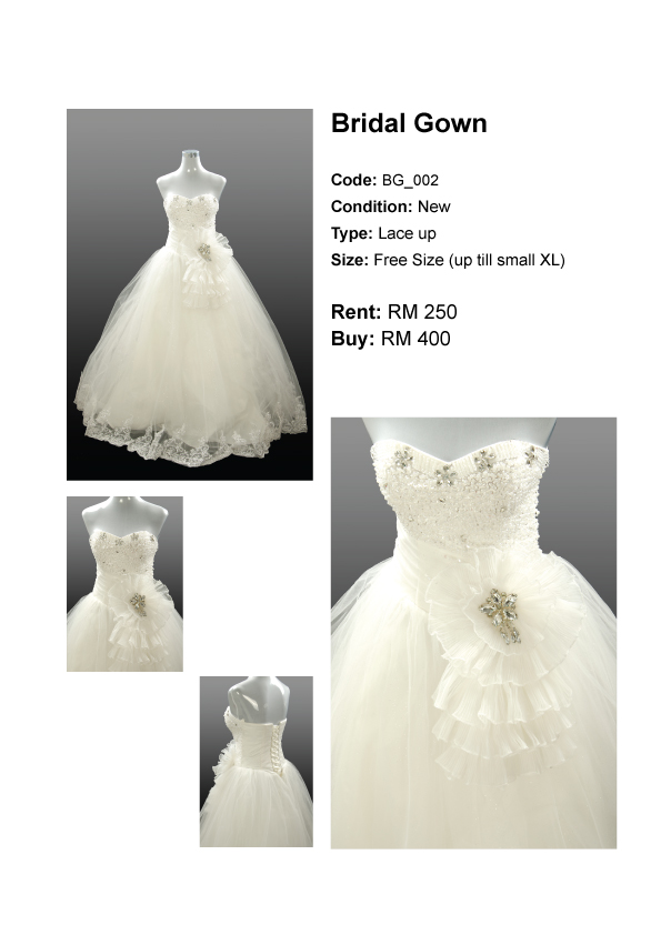 Special Offer If You Wish To Buy Or Rent These Gowns