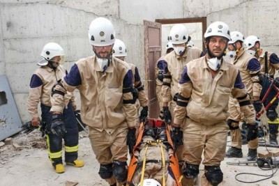 The White Helmets, Oscar-winning short documentary