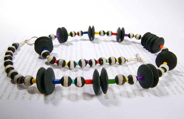 Necklace by Colorissima Jewelry...!