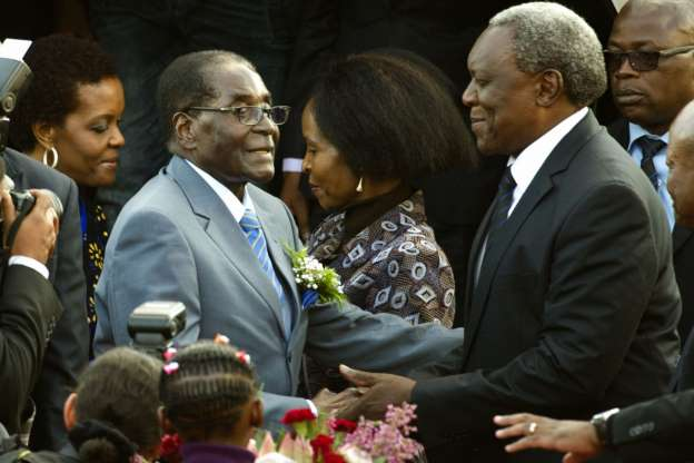 'It was me who urged Mugabe to resign,' says wife Grace