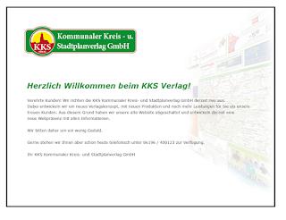 Screenshot ♦ http://www.kks-verlag.de/ ♦ 02.06.2017