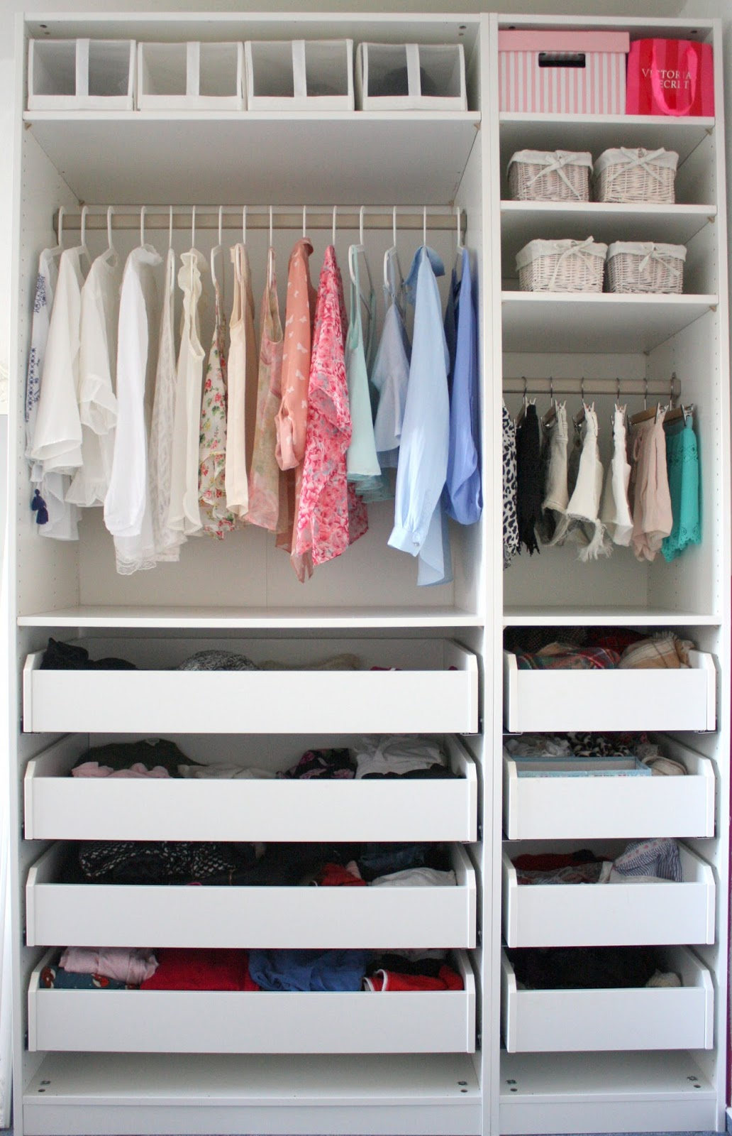 Schrank Zusammenstellen Featherwings: My Closet - Impressions, Organisation
