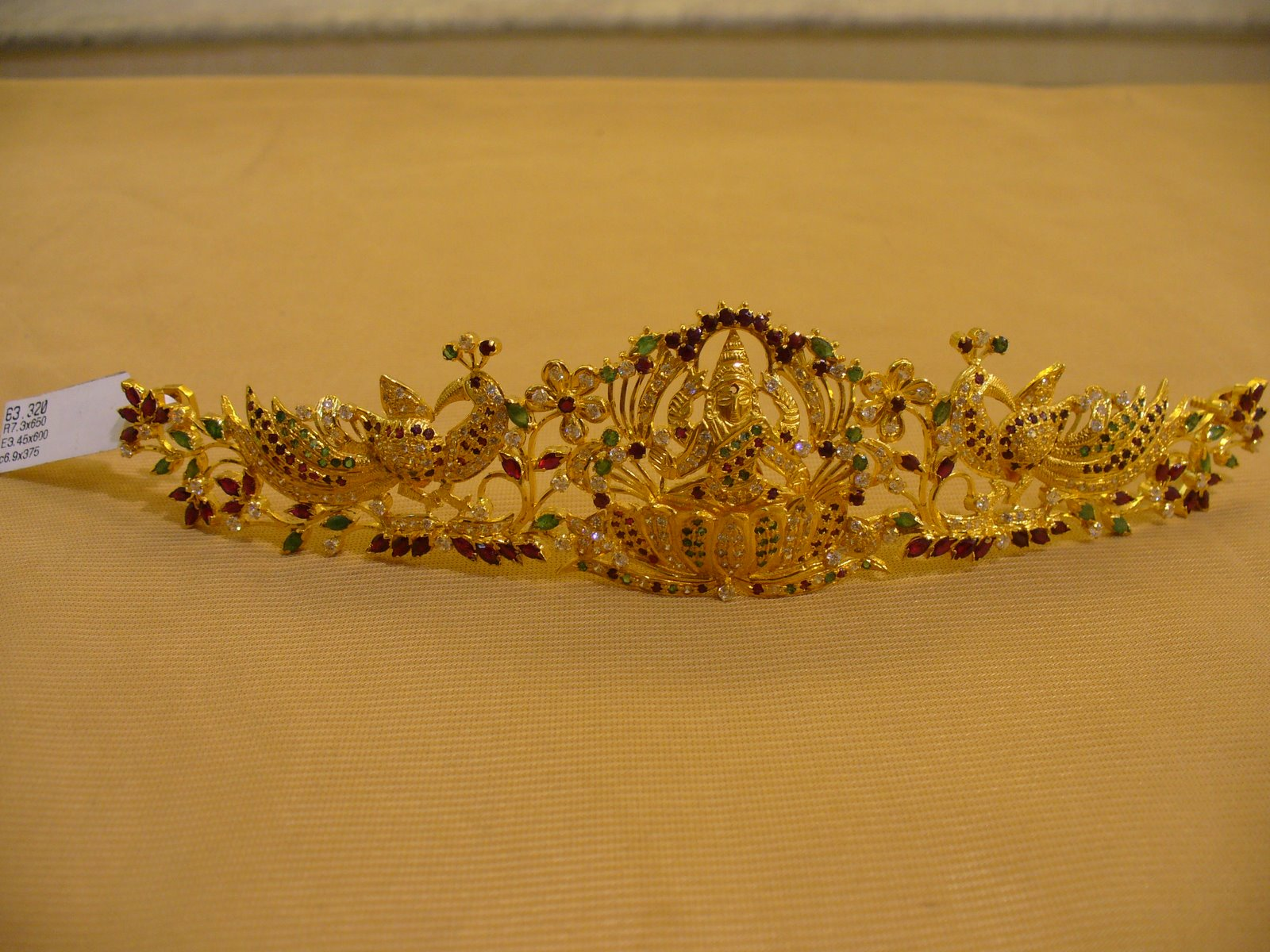 Gold vaddanam oddiyanam kammarpatta waisbelt designs south indian - Vaddanam Waist Belt Kamar Patta Oddiyanam Studded With Rubies And Emeralds