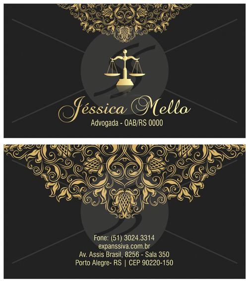 Cartões de Visita Criativos para Advogados