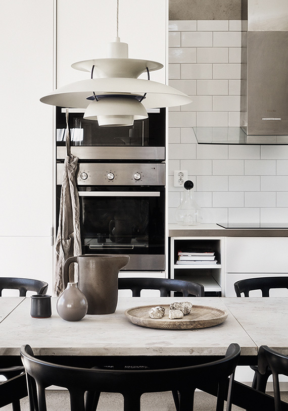 Kitchen photo by Emma Jonsson Dysell, styling by Ida Lauga via Fantastic Frank