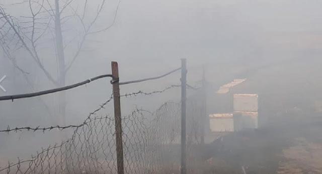 Σέρρες: Έβαλαν φωτιά να κάψουν χόρτα κι έκαψαν μελισσοκομική μονάδα στα Ίβηρα