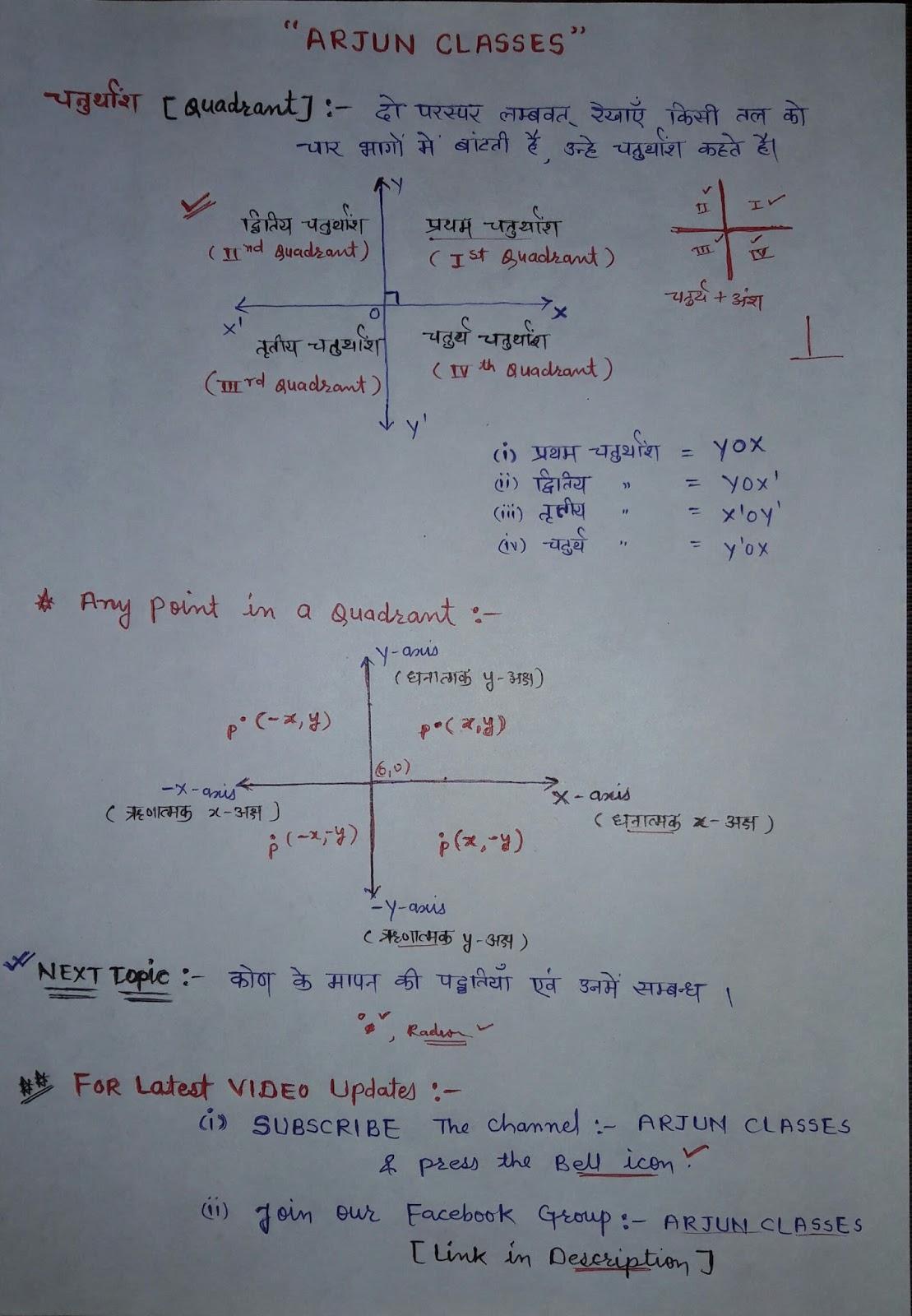 what is quadrant ?