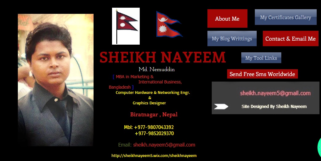 Know about Business Owner - Sheikh Nayeem