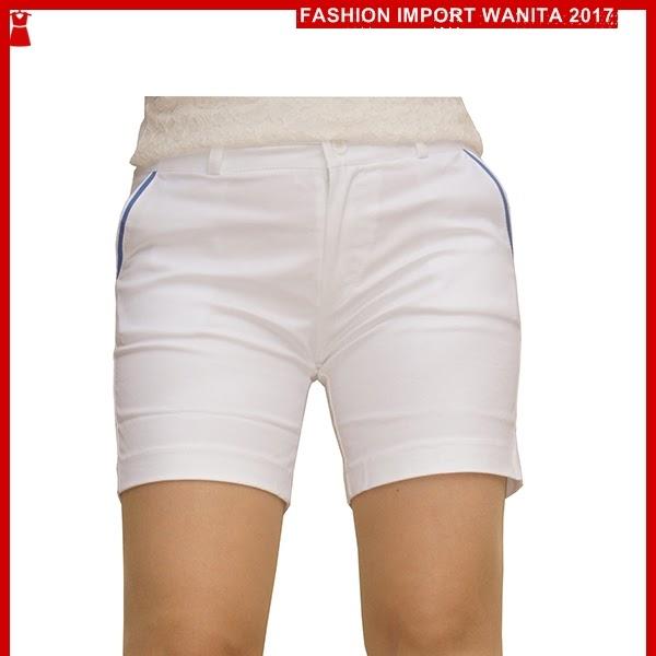 ADR063 Celana Wanita Putih Pendek Hotpant Import BMG