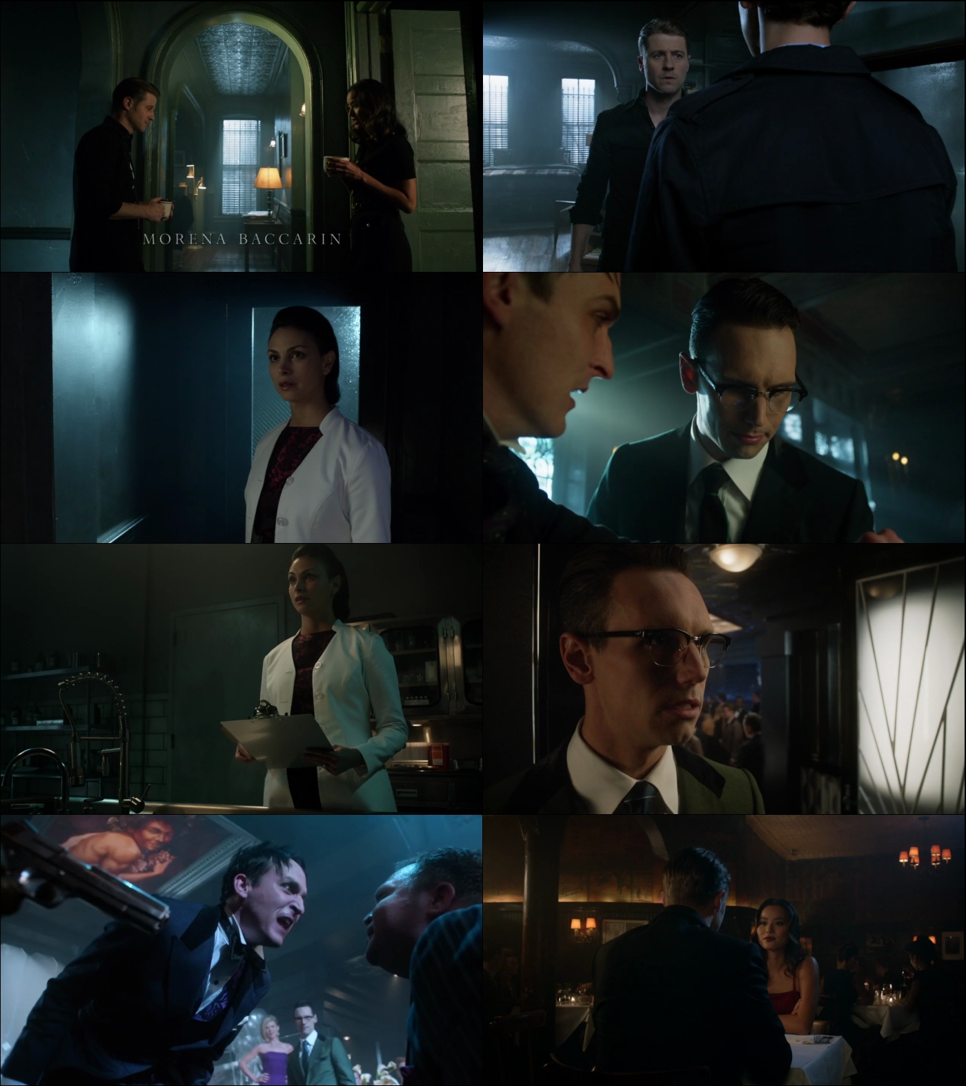 Gotham temporada 3 720p latino ingles mega Gotham temporada 3 espanol