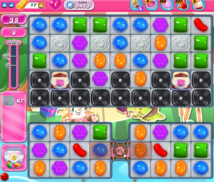 Candy Crush Saga level 2413