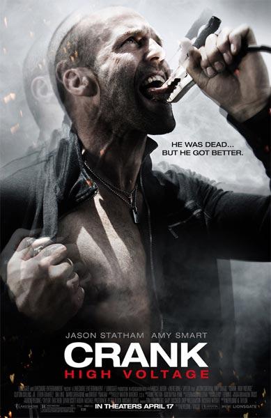 Crank 2: Alto voltaje (HD 720P y español Latino 2009) poster box code