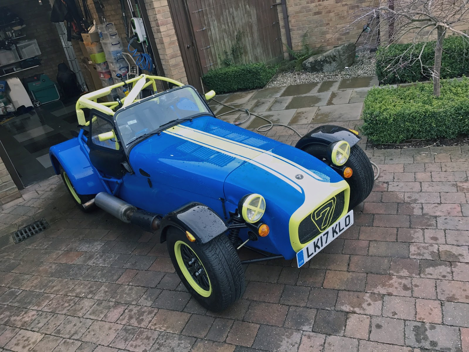 Caterham Viper Blue Paint Code