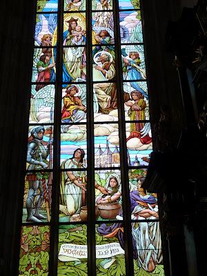 vidrieras iglesia