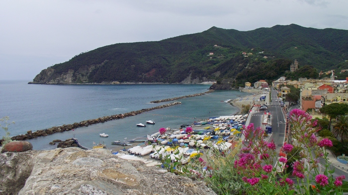 Moneglia Liguria travel Italy Italia