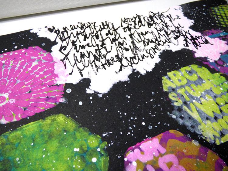Gelli Plate Art Journal