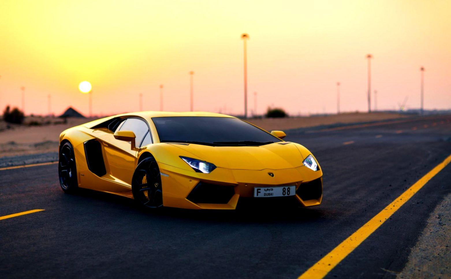 . Awesome Car Lamborghini Aventador Hd Wallpaper   Gandoss Wallpapers