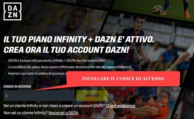 codice-accesso-dazn