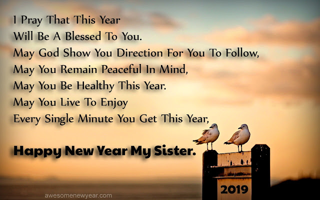Sister Happy New Year Quotes